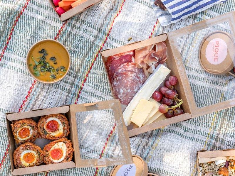 Park picnic food delivery Pique