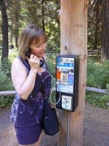 Phone Yosemite Valley