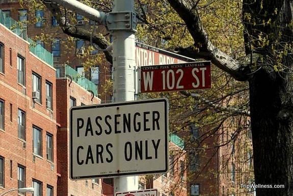 Landmark Street Sign, New York, trip wellness, walking tours in new york