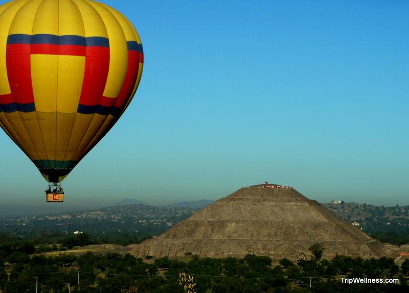 balloon teotihuacan mexico