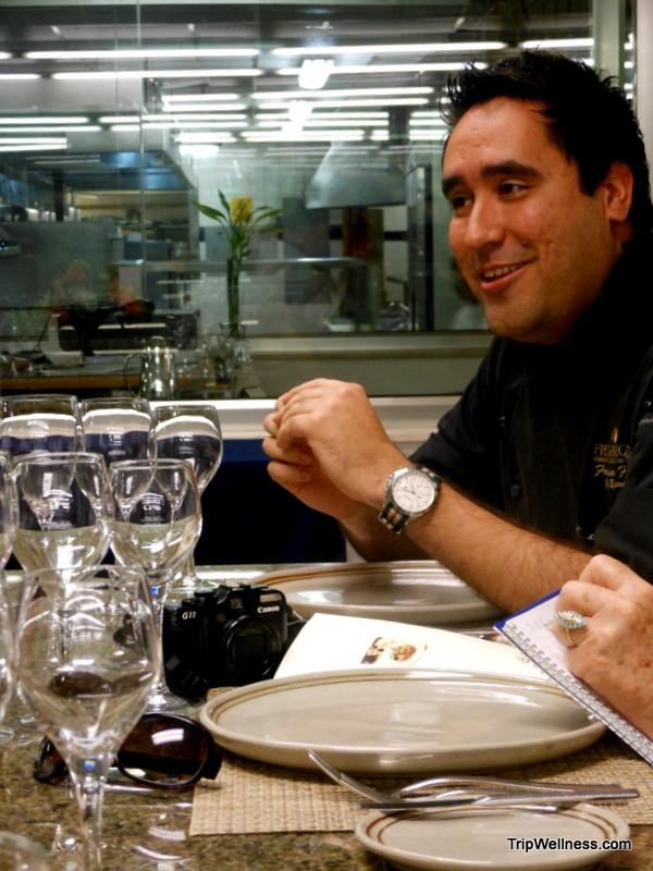 Chef Le Basilic, trip wellness