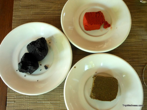 Three Yucatan spice pastes, trip wellness