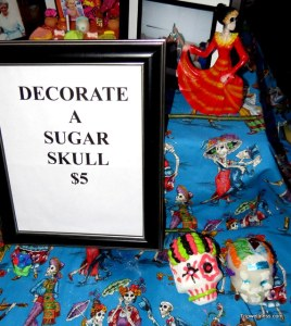 Day of the Dead sugar skull, trip wellness