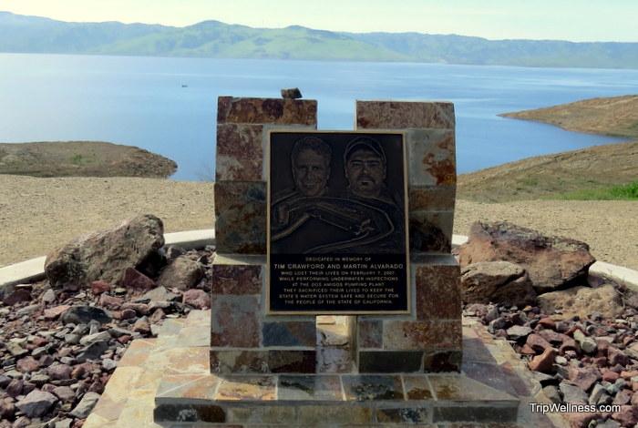 San Luis Dam, John Steinbeck, trip wellness
