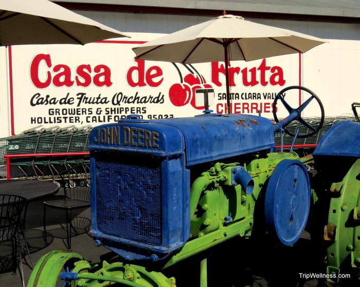 Casa de Fruta, trip wellness, John Steinbeck