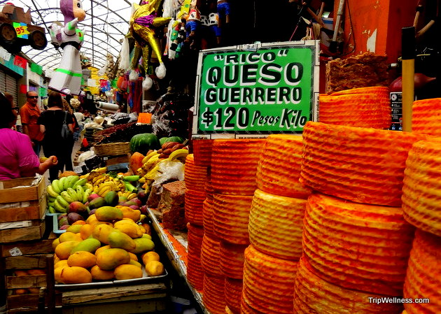 El Popo market. Day trip Tijuana. Trip wellness.