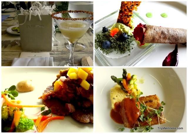 Lunch at La Corona inside Villa Premiere, Boutique hotels Puerto Vallarta, Tripwellness