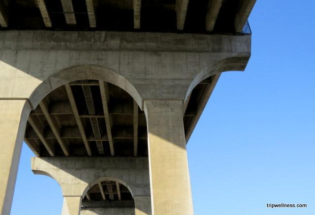 Coronado Bridge pilings