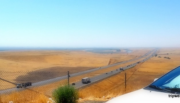 A long distance drive  – Going solo in the Central Valley