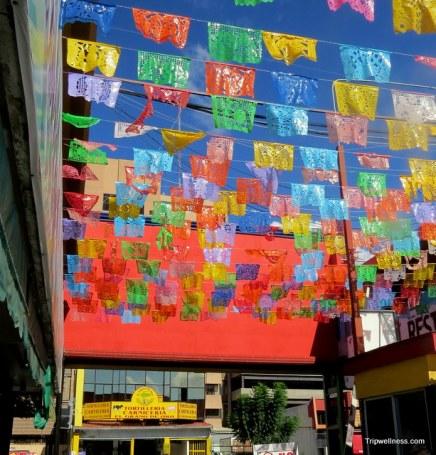 Entrance to Mercado Hidalgo