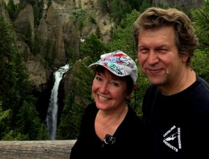 Elaine and Dave in Yellowstone, best pictures