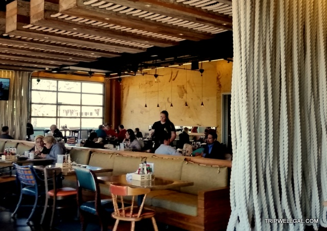 Hello Betty restaurant is a fun stop for a California beach adventure