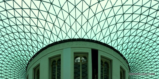 The British Museum is one of the fun places to visit