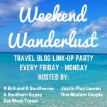 weekend wanderlust April 2016