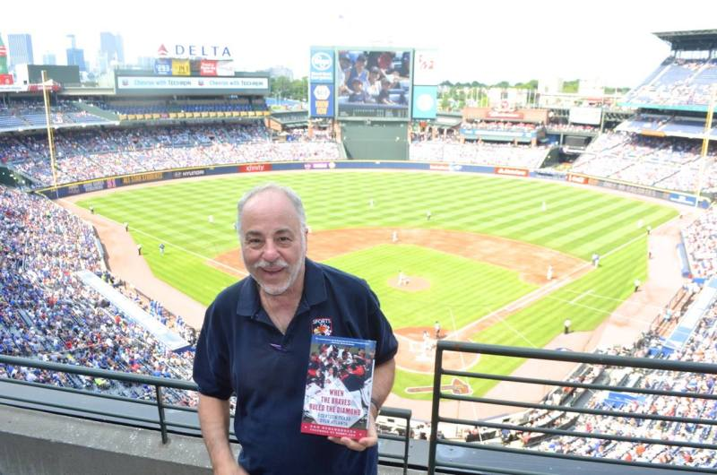 Dan Schlossberg and his latest book.