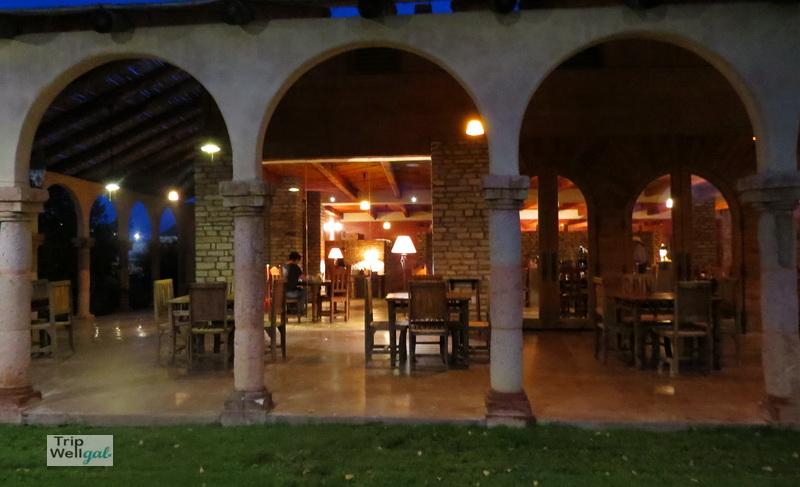 Lajitas dining room at dawn