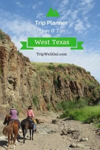 Riding Through West Texas Trip Planner Pin 1