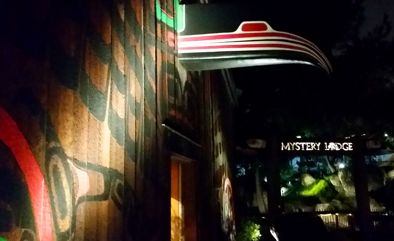 The show inside the Mystery Lodge is a thrilling nod to Native Americans who once lived nearby