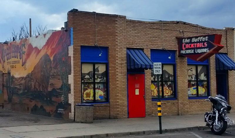 The Buffet Bar in the Iron Horse neighborhood of Tucson