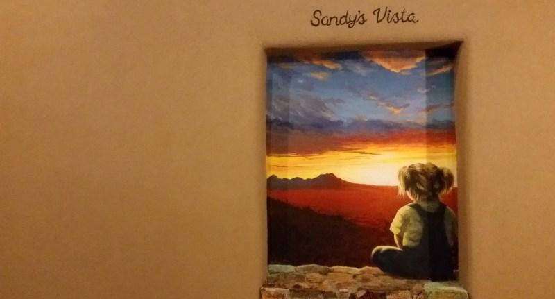 Sandy's vista Hacienda del Sol