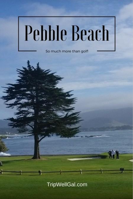 Pebble Beach Golf Resort Pin