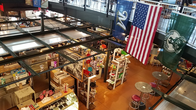 A glimpse of the Public Market in Milwaukee
