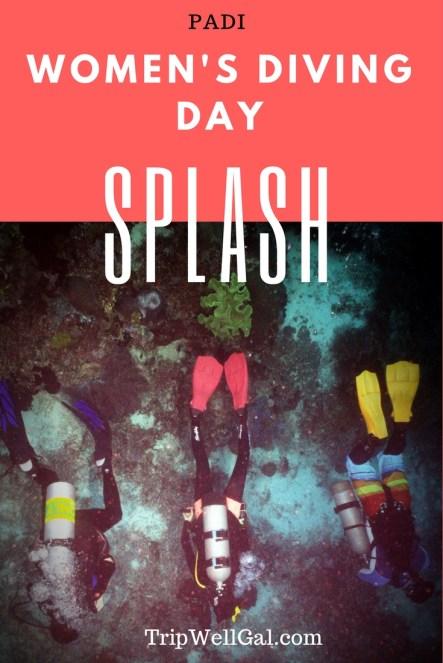 PADI Women Divers Day 2017