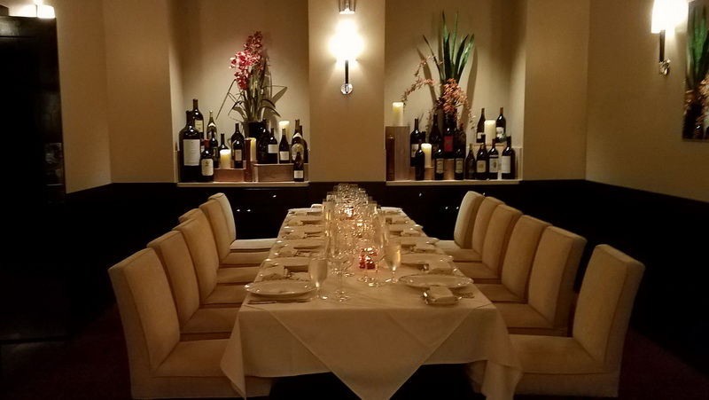 Oak Room dining Pala casino and resort
