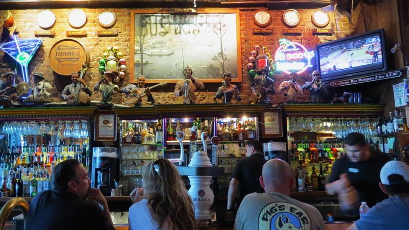 Bar scene in Catalina Island
