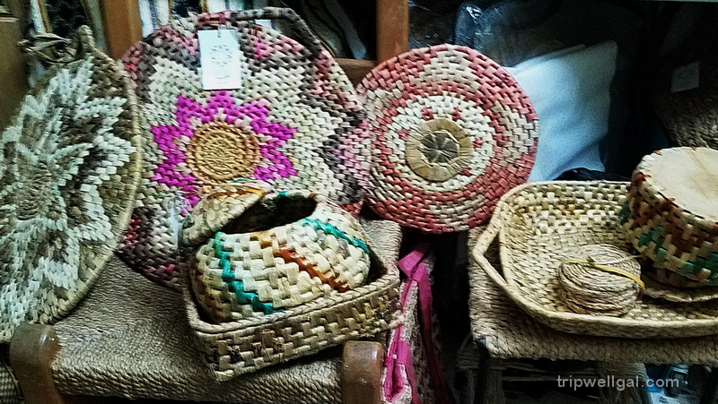baskets in Um Qais, Jordan