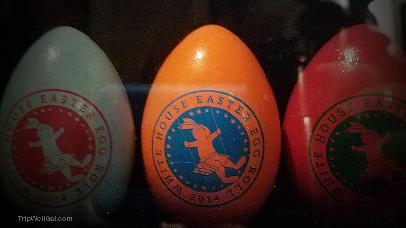 Easter eggs from the White House Egg Roll