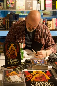 A Royal Visit: Ian Culbard launches The King in Yellow