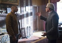 """DC's Legends of Tomorrow -- """"Pilot, Part 1"""" Pictured (L-R): Franz Drameh as Jefferson """"Jax"""" Jackson and Victor Garber as Professor Martin Stein -- Photo: Diyah Pera/The CW © 2015 The CW Network, LLC. All Rights Reserved."""