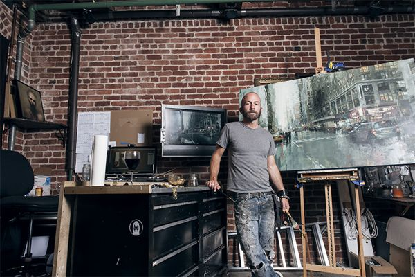 Fine Artist Jeremy Mann Speaks