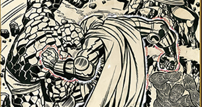 IDW Announces New Jack Kirby Fantastic Four Artist's Edition