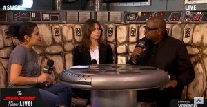 Felicity Jones and Forest Whitaker Talk Rogue One At Celebration