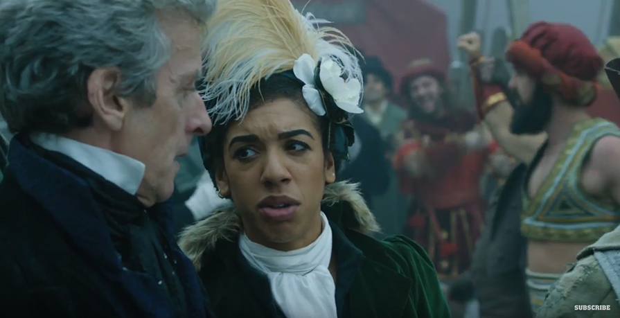 Peter Capaldi And Pearl Mackie Introduce The Latest Episode Of Doctor Who