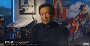 Jim Lee on Wonder Woman