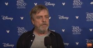 D23: Mark Hamill On Star Wars: The Last Jedi