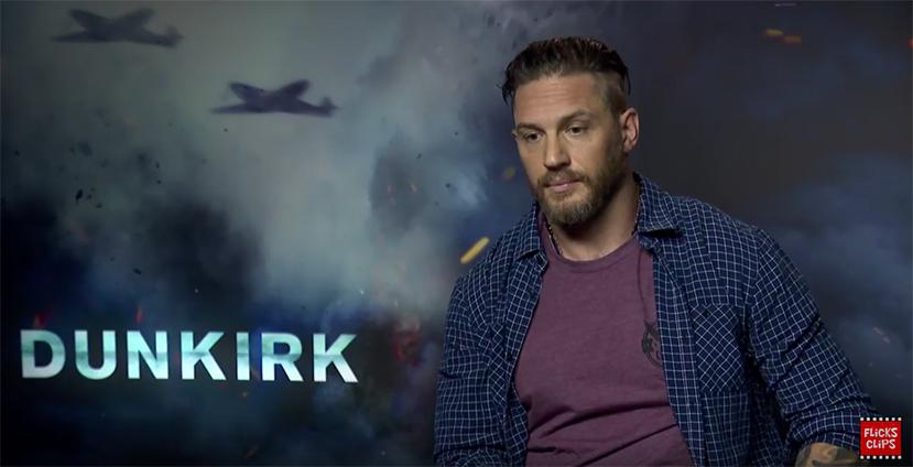 Tom Hardy Talks Christopher Nolan's Dunkirk