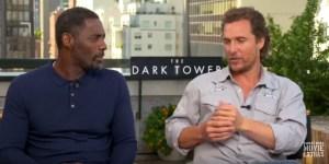 Matthew McConaughey And Idris Elba On The Dark Tower