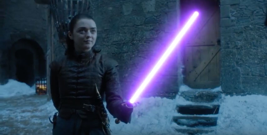Game of Thrones Now With Light Sabers?