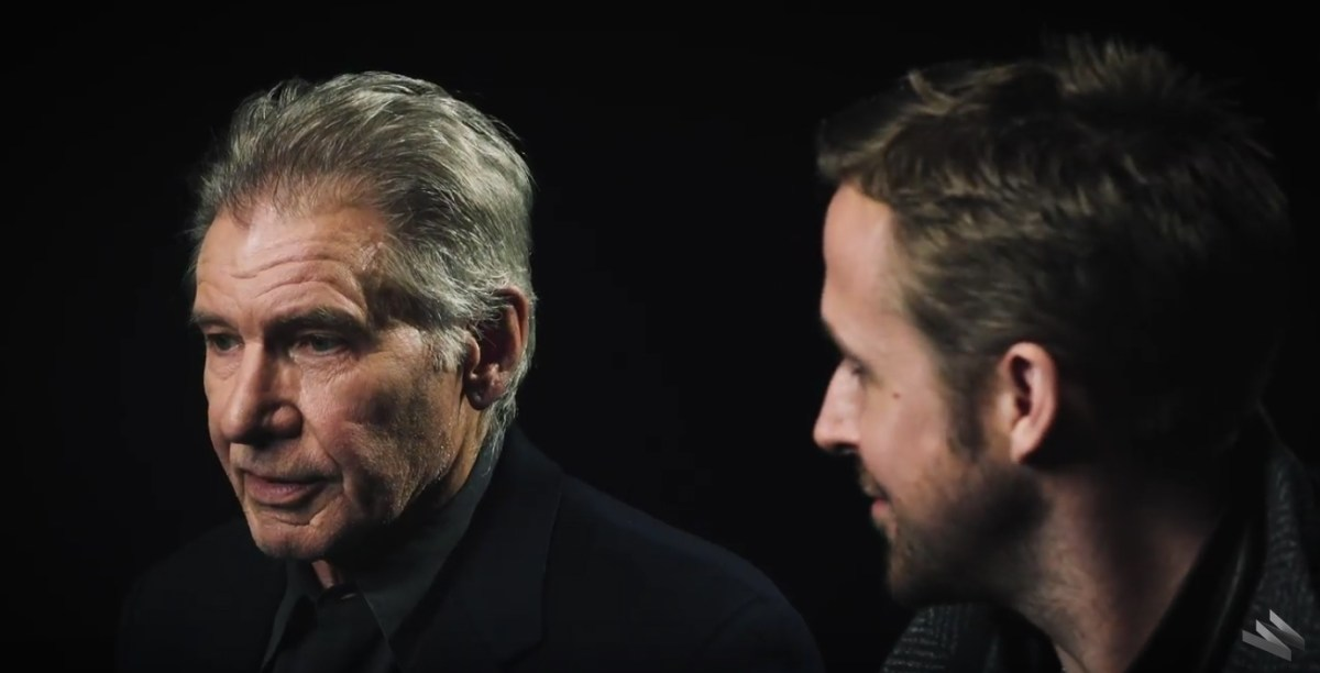 Harrison Ford And Ryan Gosling On Blade Runner 2049