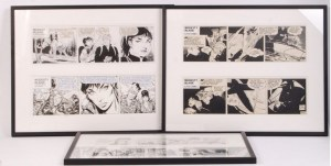 Modesty Blaise Strips Get Auctioned For Charity