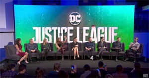 Watch Justice League Press Conference