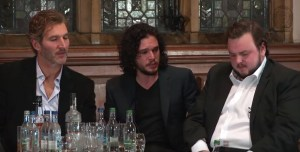 The Cast And Producers of Game Of Thrones Talk At The Oxford Union