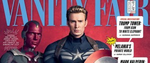 Avengers: Infinity War Take Over Vanity Fair