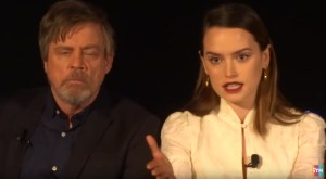 Watch The Full Press Conference From Star Wars: The Last Jedi