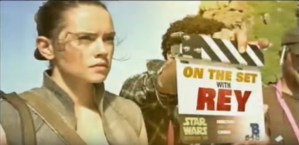 Go On Set With Daisy Ridley For Star Wars: The Last Jedi