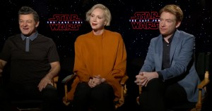 Andy Serkis, Gwendoline Christie And Domhnall Gleeson Talk Star Wars: The Last Jedi